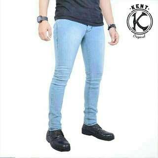 Celana Jeans Kent Original / Celana Distro / Celana Pria