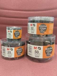 M&G Binder Clips black