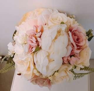 韓式絲花花球 Flower Bouquet *50% Off*
