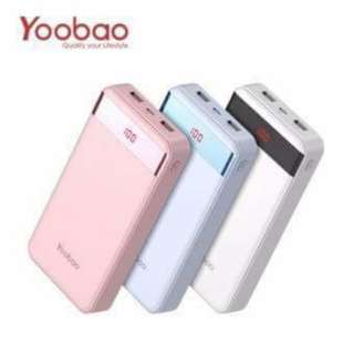 YOOBAO M20Pro 20000mAh LED Power Bank 1500