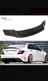 Benz W204 100%Carbon Spoiler R Style