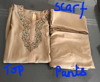 Indian Punjabi Suit/ Salwar kameez with duppatta*new*