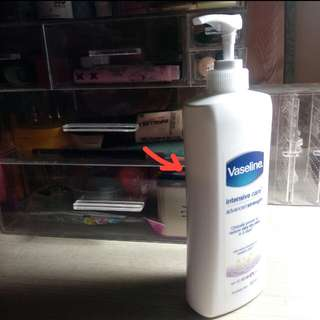 Vaseline Intensive Care Advanced Strength ( isi 75%)