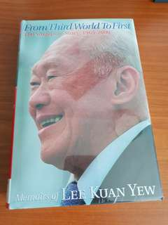Lee Kuan Yew From Third World to First World (Sealed in Plastic)