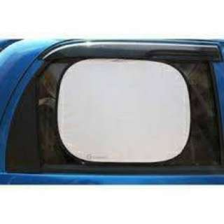 2Pcs Car SIDE Window NYLON Sun Shade