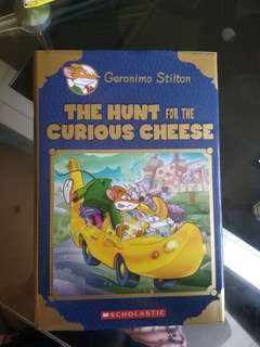 Geronimo Stilton - The hunt for the curious cheese