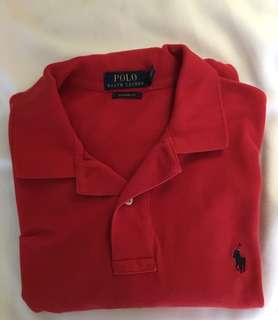 Authentic Ralph Lauren Polo Shirt (Classic Fit-Large)