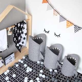 🦈鯊魚仔收納袋•洗衣袋•玩具袋 • Shark laundry bag • Storage basket