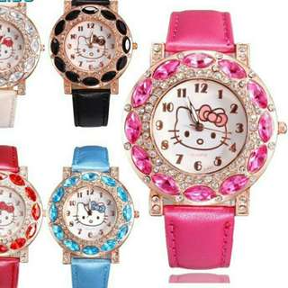 Hello Kitty Watch (pink.color)