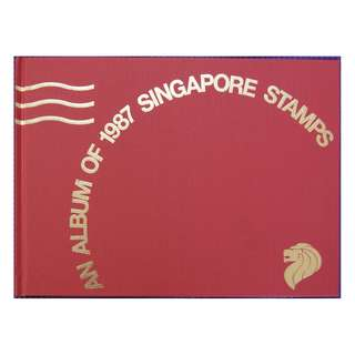 Singapore 1987 Annual Stamp Album