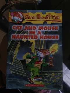 Geronimo Stilton - cat and mouse in a haunt house