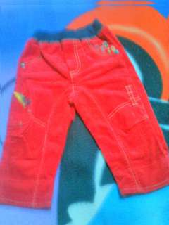 Baby pants red