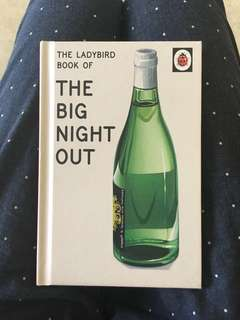 """Ladybird Big Night Out """"comedy book"""""""