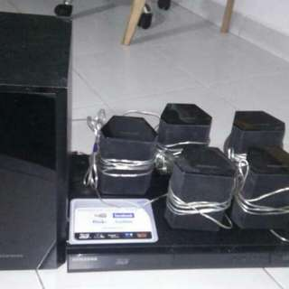 3D internet Blue ray  home theater complete set