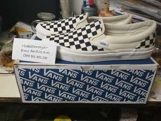 Vans vault slip on og checkerboard