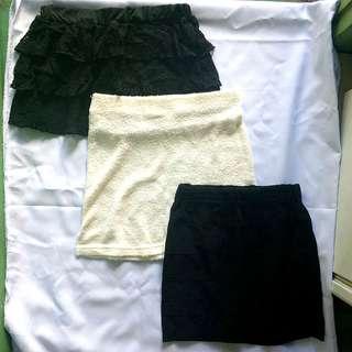 Take All Mini Skirts