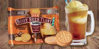 Limited Edition H‑E‑B Select Ingredients Twisters Root Beer Float Cookies (US)