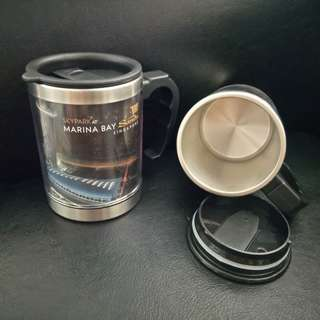 Skyline view of MBS Thermal Mugs - collector's item
