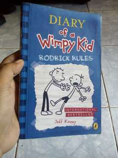 Diary of a Wimpy Kid ~ Rodrick Rules