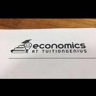 economics at tuitiongenius notes