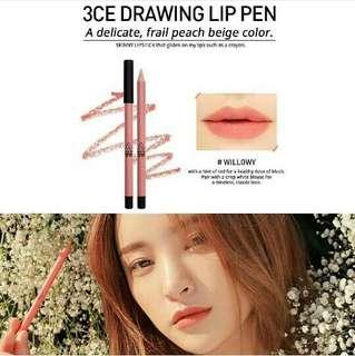 3CE - Drawing Lip Pen Willowy