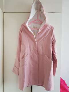 PINK HoodedWinter Jacket Brand new with tag