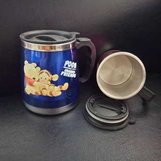"""Winnie the Pooh"" Thermal Mugs - collector's item"
