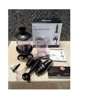 Hand Blender Chopper 292 &141 Oxone Terlaris