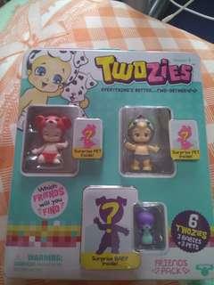 Wtt Twozies season 1 friends pack