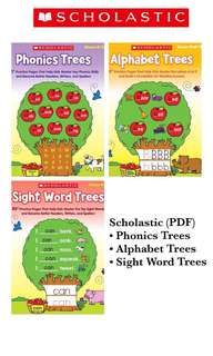 Scholastic Phonics,Alphabet,Sight Word Trees(PDF)