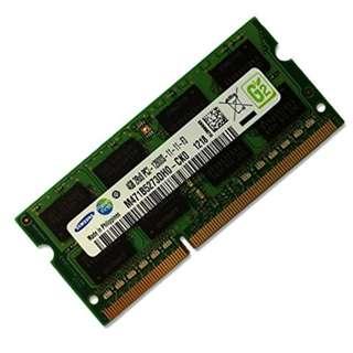 RAM LAPTOP DDR3 4GB PC3L-12800S