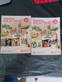 Social studies Primary 5 textbooks