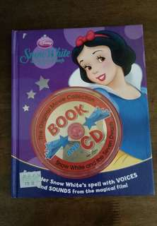 Childrens' Book (Snow White Story Book with CD)