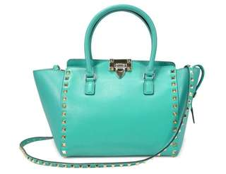 BN: Valentino Rockstud Small Double Handle Bag