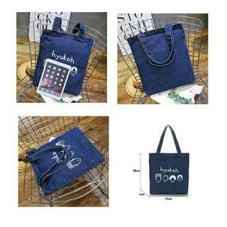 TOTEBAG DENIM KEKINIAN