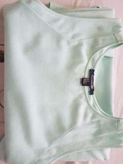 F21 Mint Green Dress