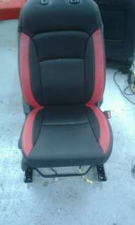 Car Seat Leather Upholstery