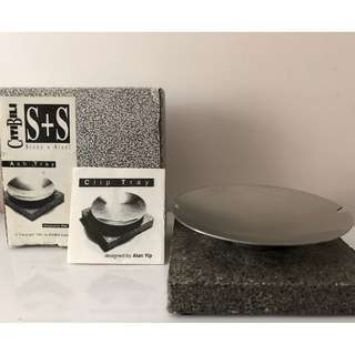 SS Stainless Steel Stone Ash Tray 煙灰器皿