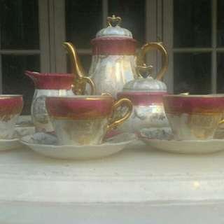 1 Set Tea Cup Antique dari Eropa