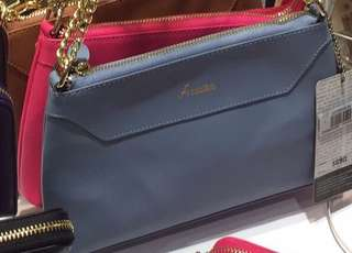 FX Creations bag Saffi Leather (blue) 真皮手袋