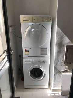 Bosch washing machine & dryer