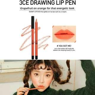 3CE - Drawing Lip Pen You Got Me