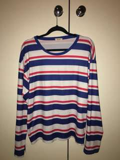 Bright Stripey long sleeve top