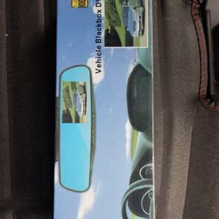 Car camera DVR rear mirror