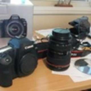 Kamera Canon Eos 5D II Fullset