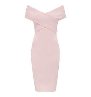 Forever New Kiki Sleeveless Cross Front Dress