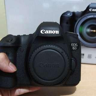 Kamera Canon Eos 6D Fullset