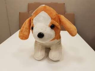 Dog soft toy 6.5 x 6.5 inches