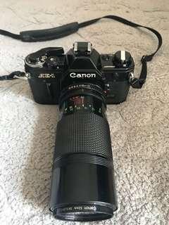 canon ae - 1 with canon lensa