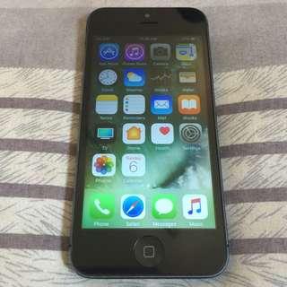 iPhone 5 16gb Black FU No Wifi